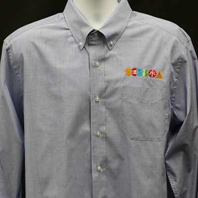 SCSBOA Chambray Dress Shirt