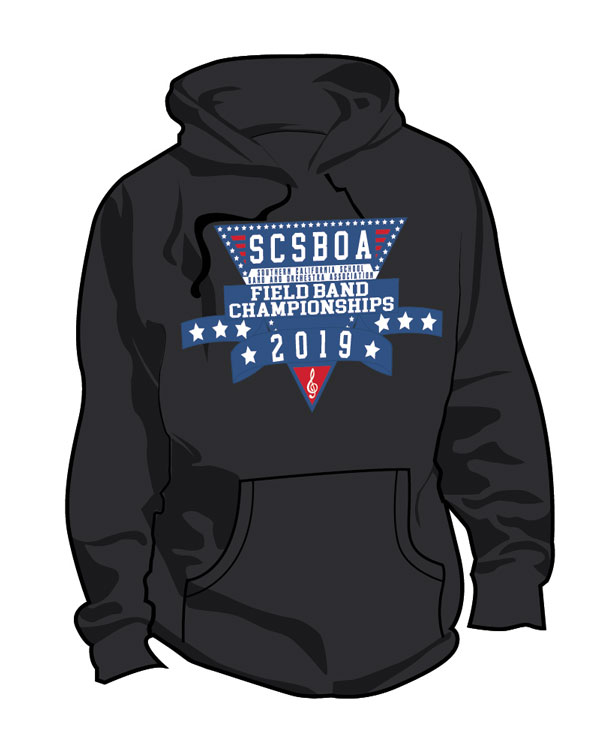 SCSBOA 2019 Field Championships Hoodie - Front
